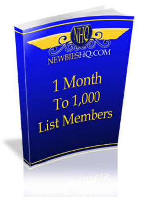 Product picture *BEST SELLER* 1 Month to 1000 List Members (with MRR)