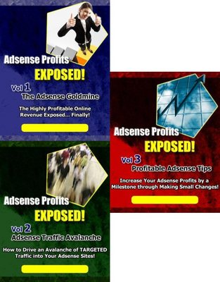 Product picture *MOST SELLER*Adsense Profits Exposed (Vol.1 - Vol 3)